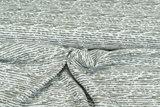 Baumwoll Musselin bedruckt glatt stripes grün_