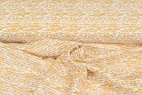 Baumwoll Musselin bedruckt glatt stripes ockergelb_