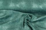 Baumwoll Musselin jeans look dunkelmint_