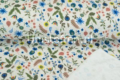 Alpenfleece bedruckt NA445 Russian Folk Flower