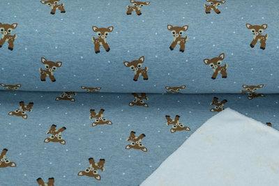 Alpenfleece bedruckt NA461 Baby Deer