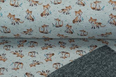 Alpenfleece bedruckt NA459 Foxy Dot