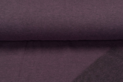 Sweat meliert Black Yarn lila