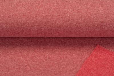 Sweat meliert White Yarn rot