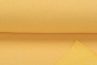 Sweat meliert White Yarn gelb