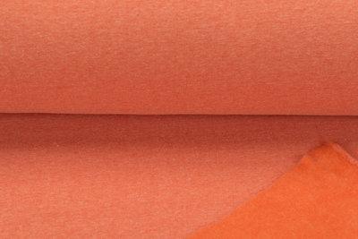 Sweat meliert White Yarn orange