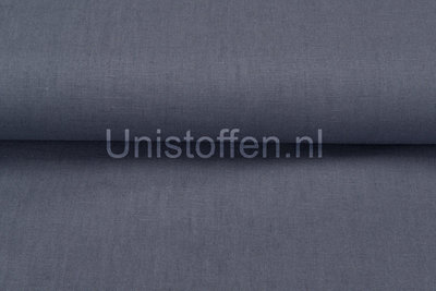 Viscose Leinen metalblau 1
