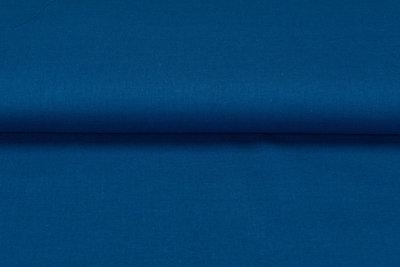 Viscose Leinen kobaltblau