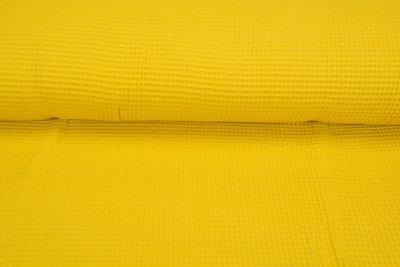 Waffeltuch fein gelb
