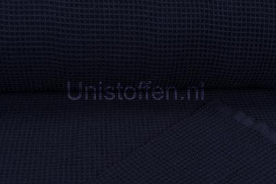 Waffeltuch fein dunkelblau-lila
