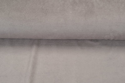 Feincord Jersey taupe