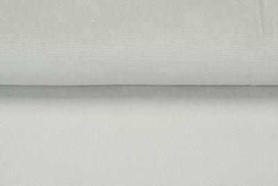 Feincord Jersey sand-grau