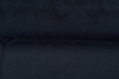 Feincord Jersey dunkelblauw
