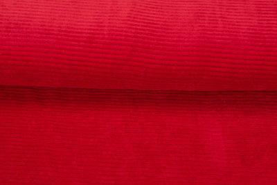 Breitcord Jersey leuchtend rot