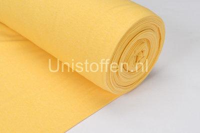 Bündchenstoff Meliert gelb