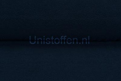 Baumwolle Fleece dunkelblau