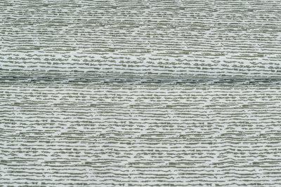 Baumwolle Popeline bedruckt stripes armee grün