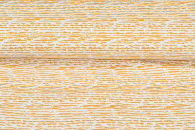 Baumwoll Musselin bedruckt glatt stripes ockergelb