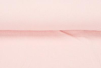 Baumwoll Musselin lachs rosa