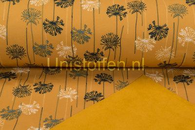 Softshell bedruckt Agapanthus