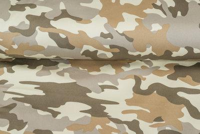 Knitted Camouflage Denim sand