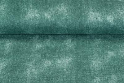 Baumwoll Musselin jeans look dunkelmint