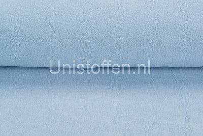 Baumwolle Fleece hellblau
