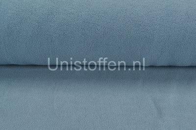 Baumwolle Fleece metal blau