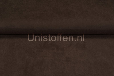 Suède dunkelbraun