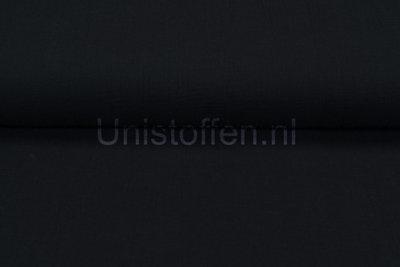 Baumwoll Musselin schwarz
