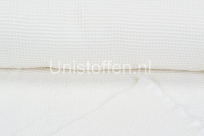 Waffeltuch fein off-white
