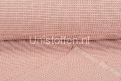 Waffeltuch fein rosa