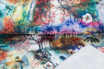 Alpenfleece Digitaldruck DA17