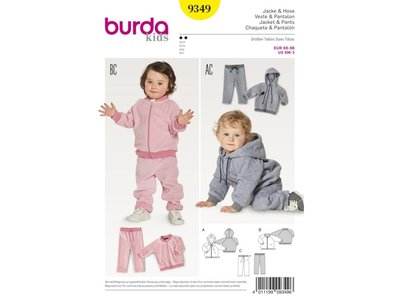 Schnittmuster Burda 9349