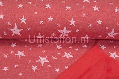 Alpenfleece bedruckt NA401 Summer Vintage Star
