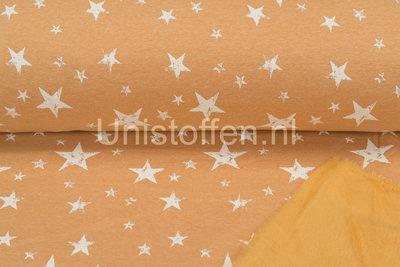 Alpenfleece bedruckt NA402 Summer Vintage Star
