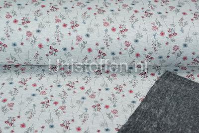 Alpenfleece bedruckt NA314 Autumm Yard