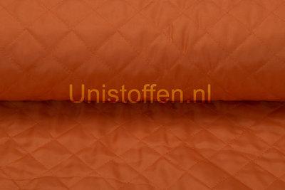 Steppstoff wattiert,orange