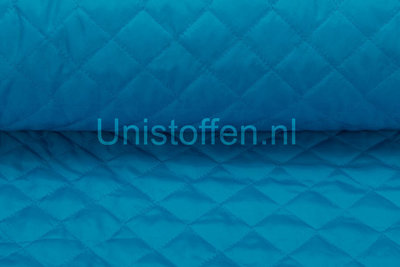 Steppstoff wattiert,turquoise