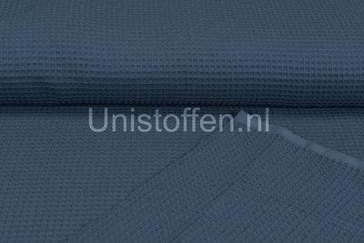 Waffeltuch fein blau