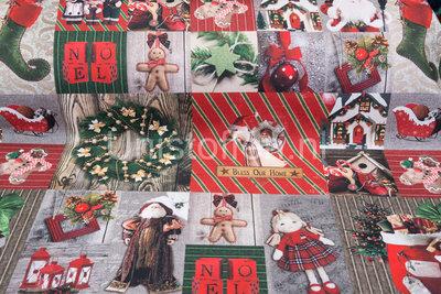 Dekostoff, Weihnachten