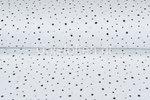 Baumwoll-Musselin-bedruckt-dots-off-white